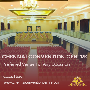 Image shows the top view of tha Grand Wedding Hall of Leading Wedding Venue Partner Chennaiconventioncentre for the Perfect Wedding